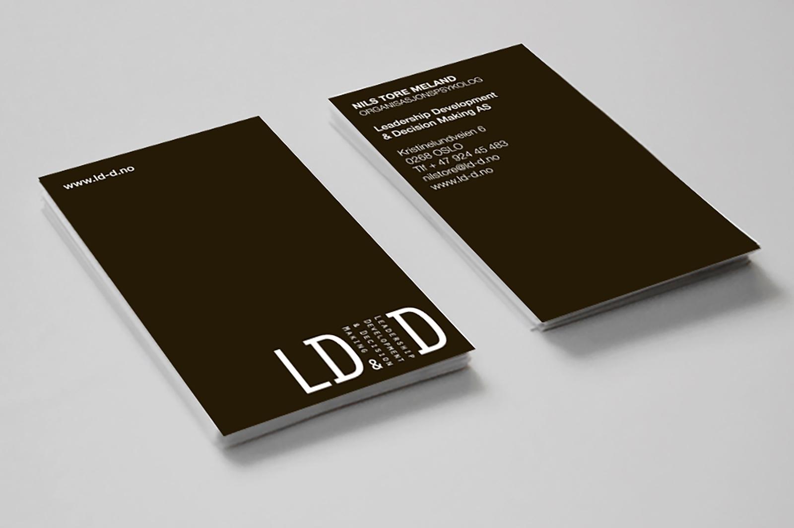 LD&D - Visittkort