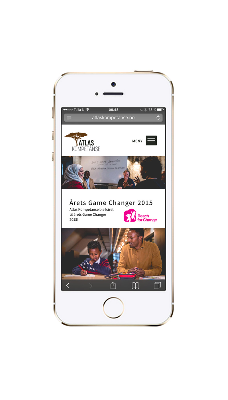 Web mobil – Atlas Kompetanse