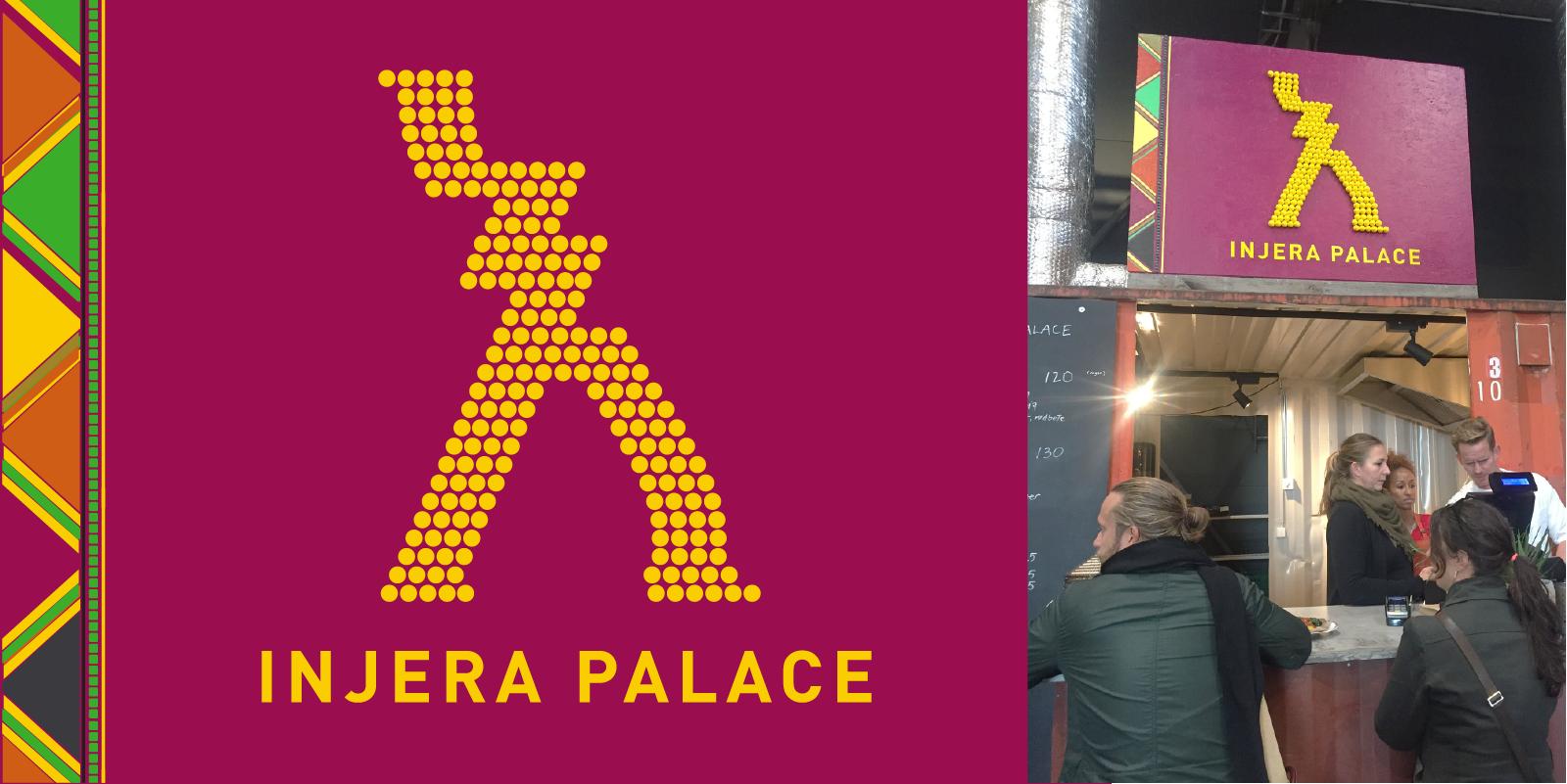 Injera Palace – skilt
